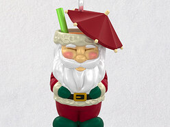 Win a 2021 Hallmark Mini Santa Tiki Mug Christmas Ornament! 🎅🍹