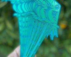 Win a pack of Tiki Swizzle Sticks by B-Rex!
