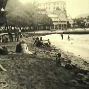 Vintage Hawaiian Film - Waikiki Honolulu